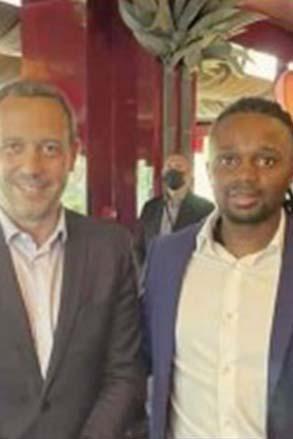 Conseil départemental: Le président Ben Issa Ousseni en Mission à Paris
