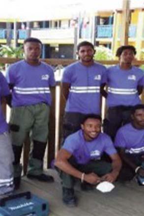 Social: Lancement des Ateliers et chantier d'insertion au CCAS de Dzaoudzi-Labattoir