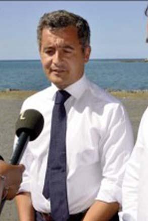 Visite ministérielle: Darmanin et Lecornu sont sur un bateau…